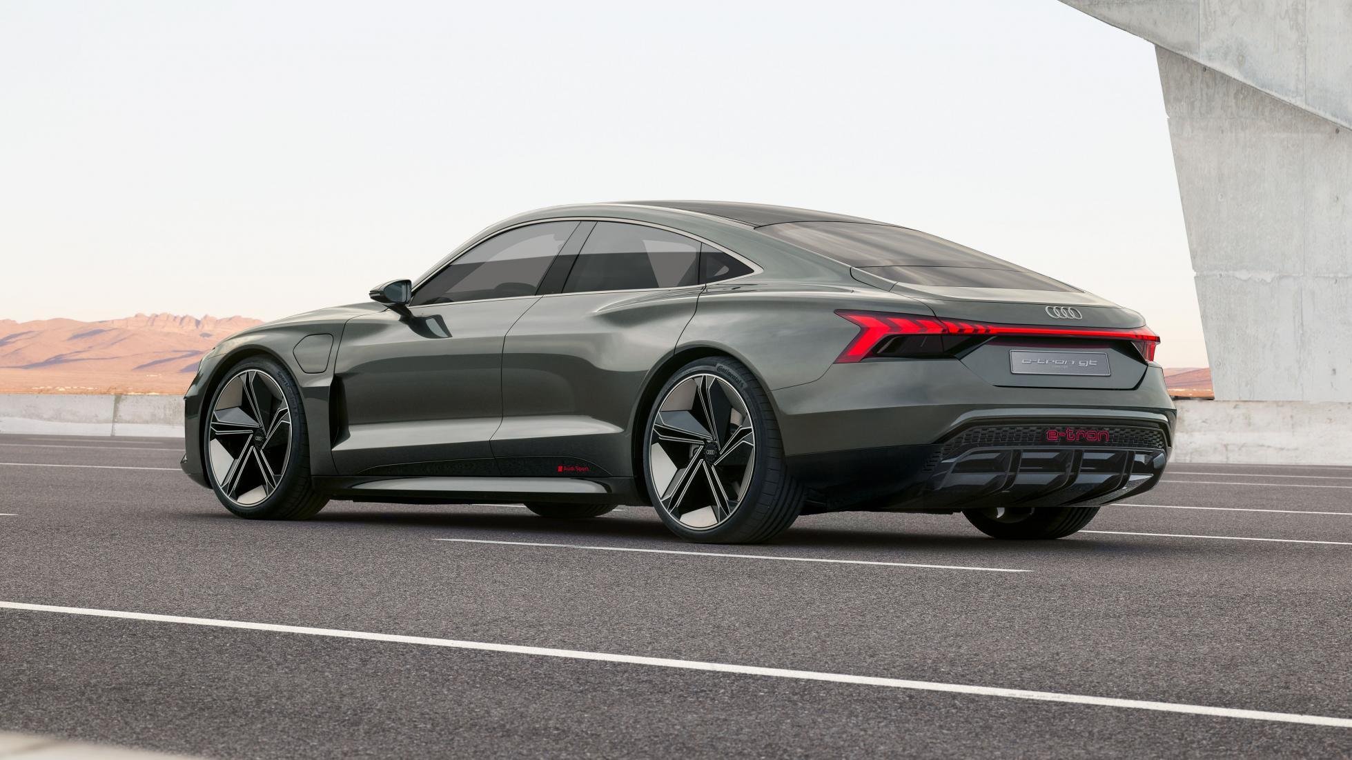 L'Audi e-tron GT est la cousine germaine de la Porsche Taycan - Galerie