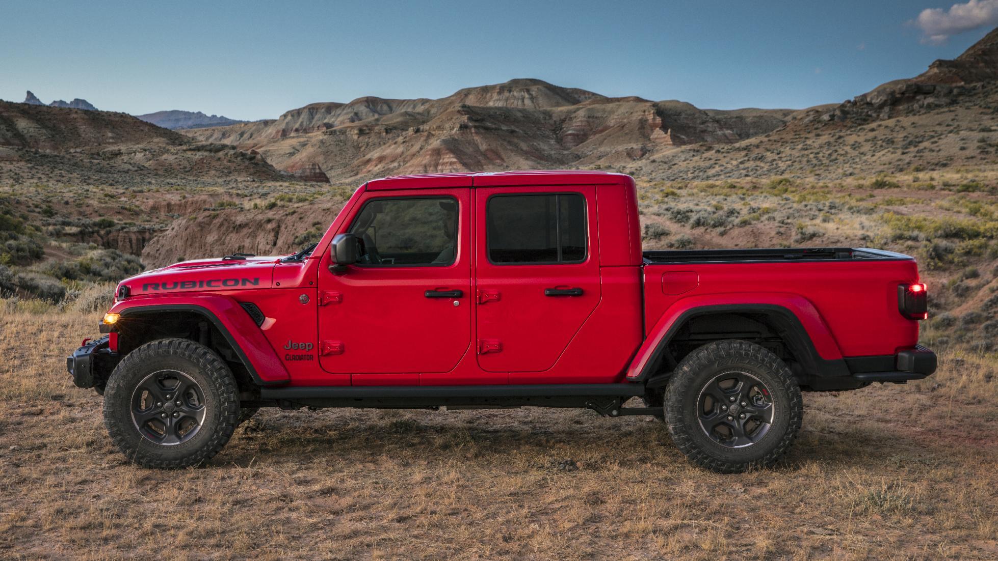 Le Jeep Gladiator ne craint rien ni personne - Galerie