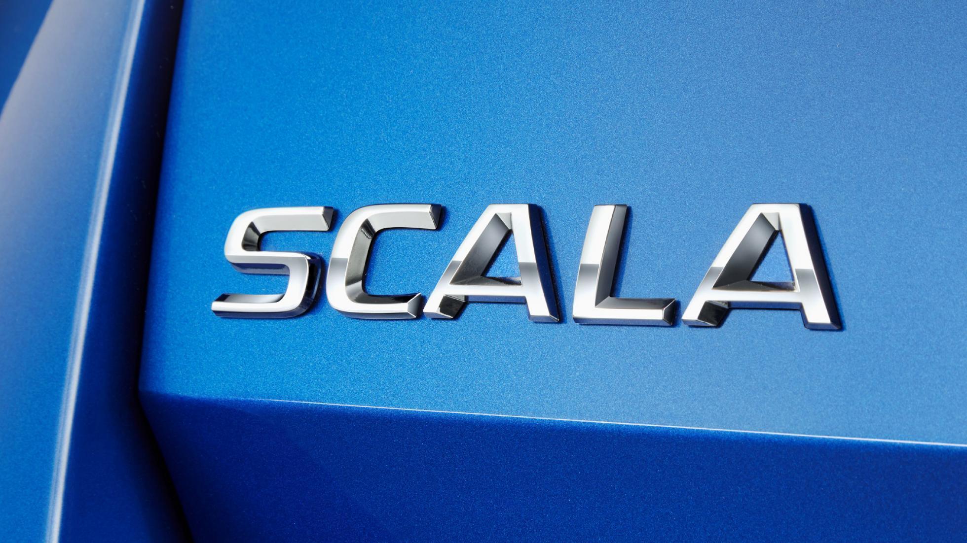 Premier coup d'œil à bord de la Skoda Scala - Galerie