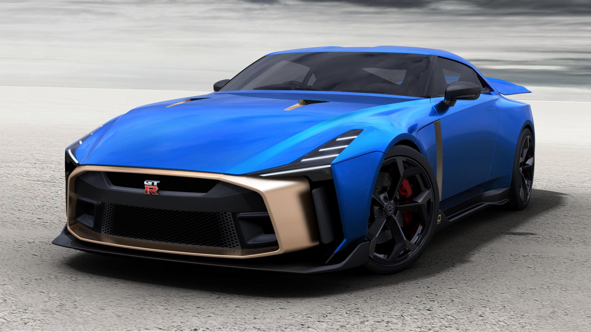 la nissan gt r50 italdesign sera produite topgear. Black Bedroom Furniture Sets. Home Design Ideas