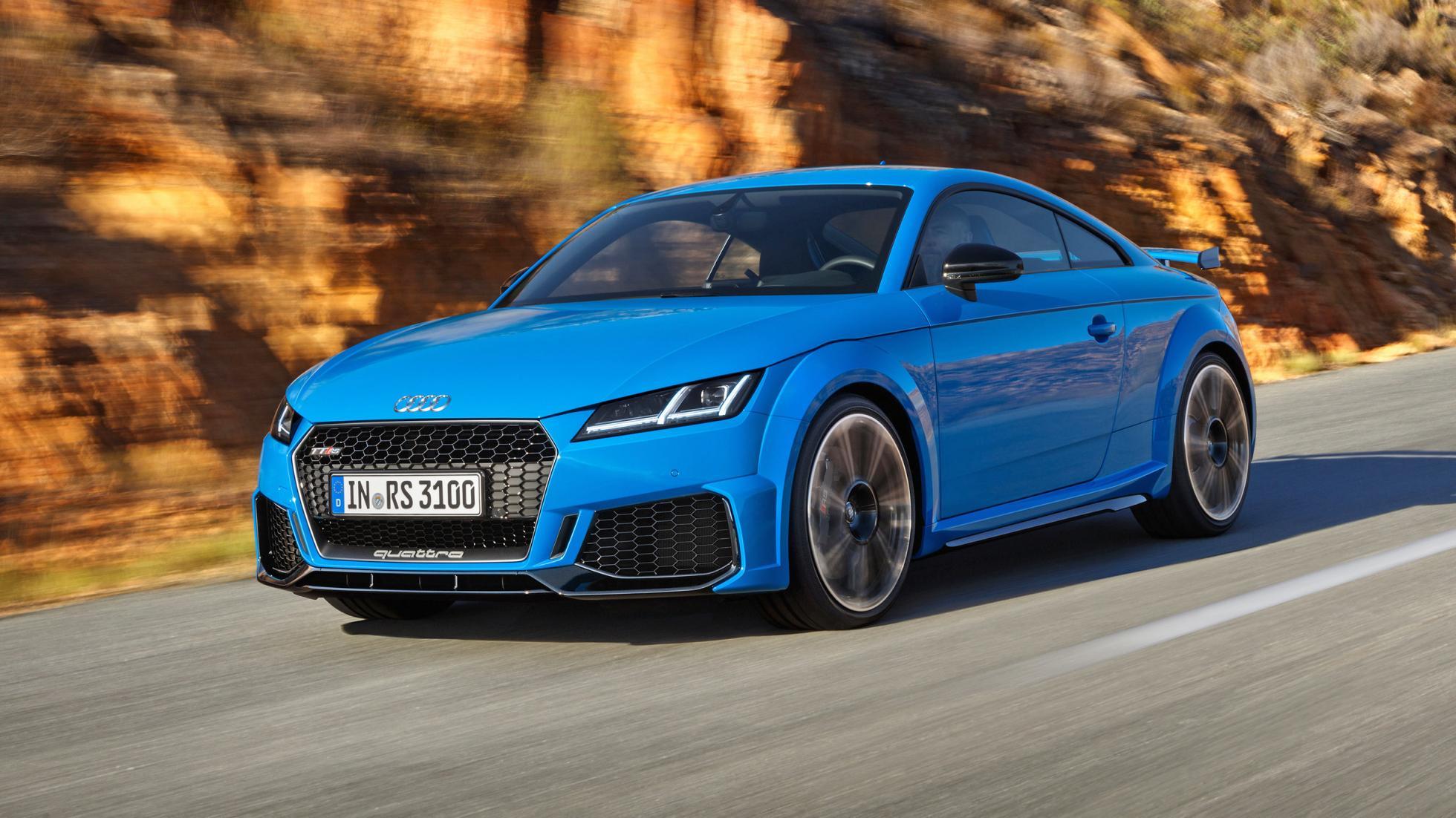 L Audi Tt Rs Restyl 233 Veut Manger De La Supra Topgear