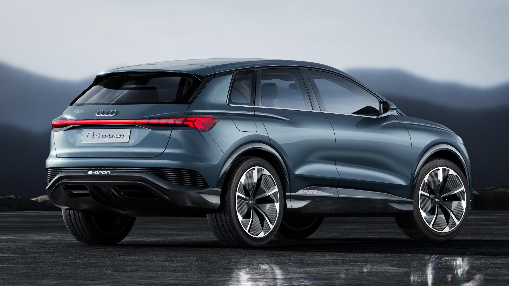 Audi Q4 e-tron Concept : dans le vif du sujet - Galerie