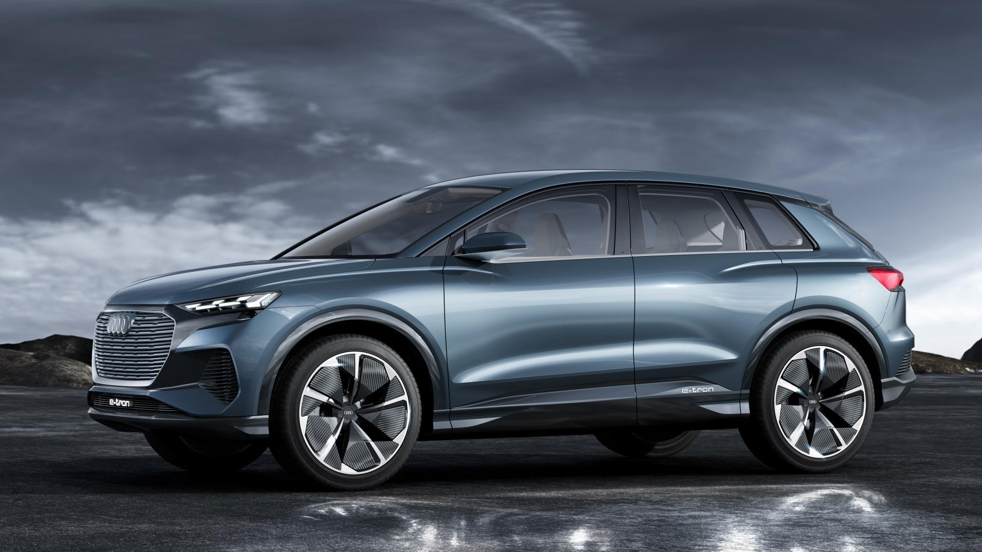 Audi Q4 e-tron Concept : dans le vif du sujet - TopGear