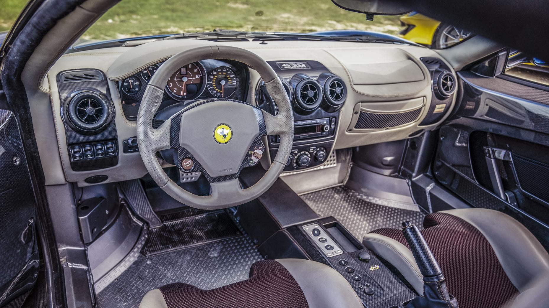 Intérieur Ferrari 430 Scuderia