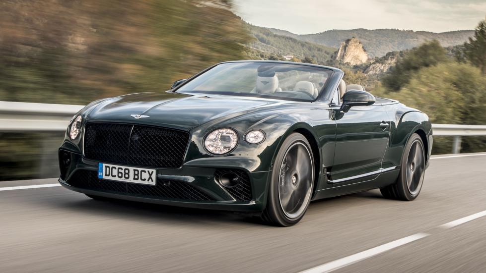 Essai : Bentley Continental GTC 2019 - TopGear