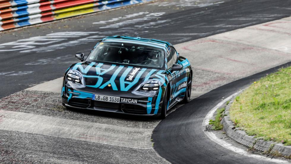La Porsche Taycan a battu un record sur le Nürburgring - Galerie