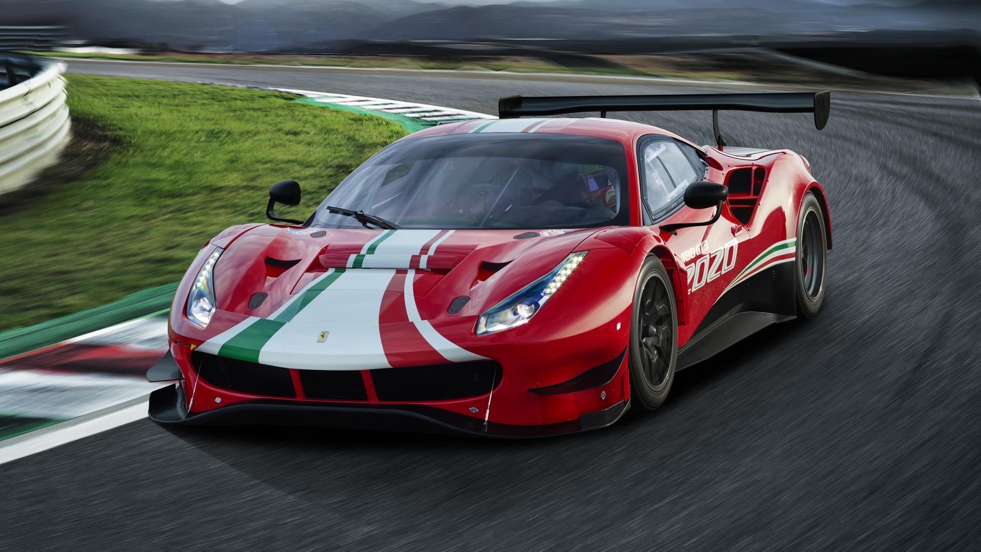 La Ferrari 488 n'est pas morte - Galerie