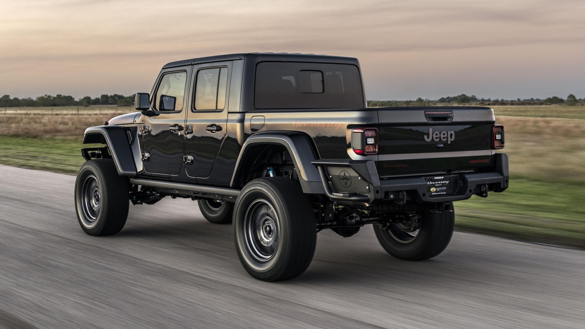 Hennessey a fabriqué un Jeep Gladiator «Maximus» de 1000 ch - Galerie