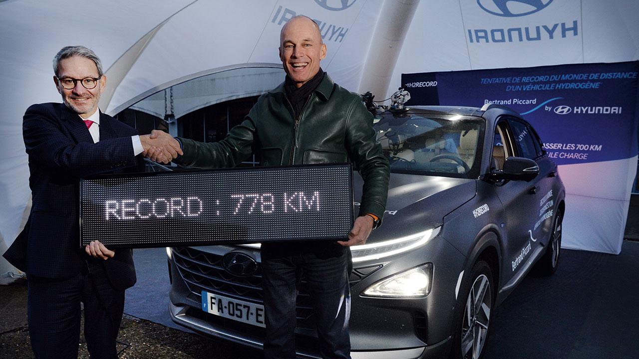 Bertrand Piccard établi un nouveau record du Monde… au sol! - Galerie