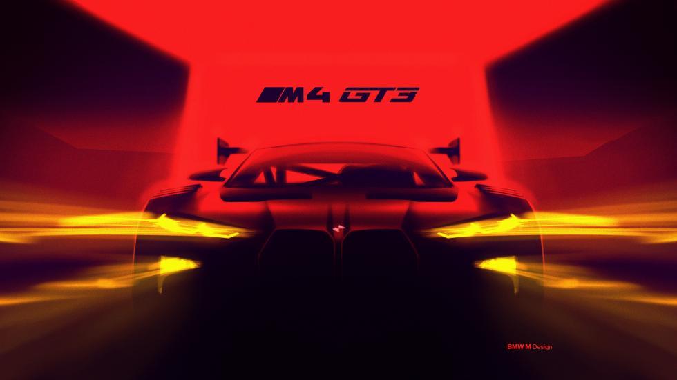 BMW M4 GT3 teaser