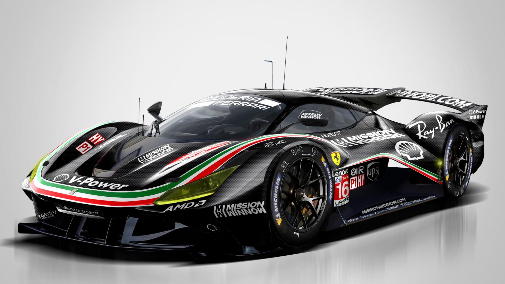 Porsche Le Mans 2021