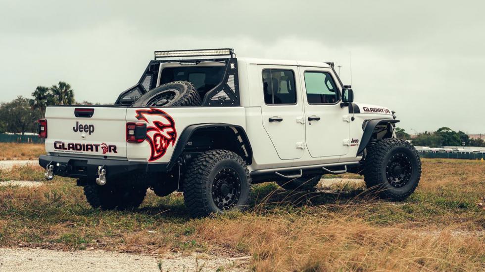 Ce Jeep Gladiator à moteur de Hellcat va défier le Hennessey Maximus - Galerie