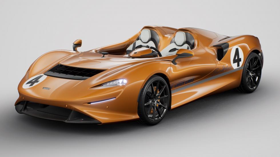 McLaren Elva : (encore) une livrée de course rétro - Galerie