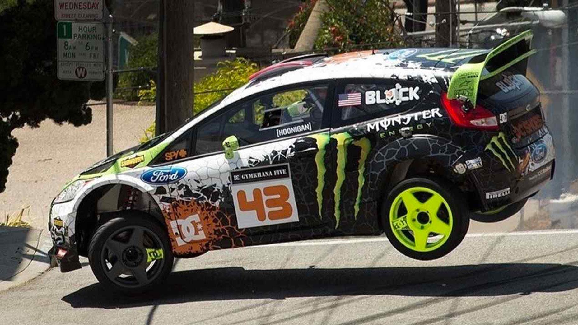 Garage Ken Block - 01 - Ford Fiesta HFHV