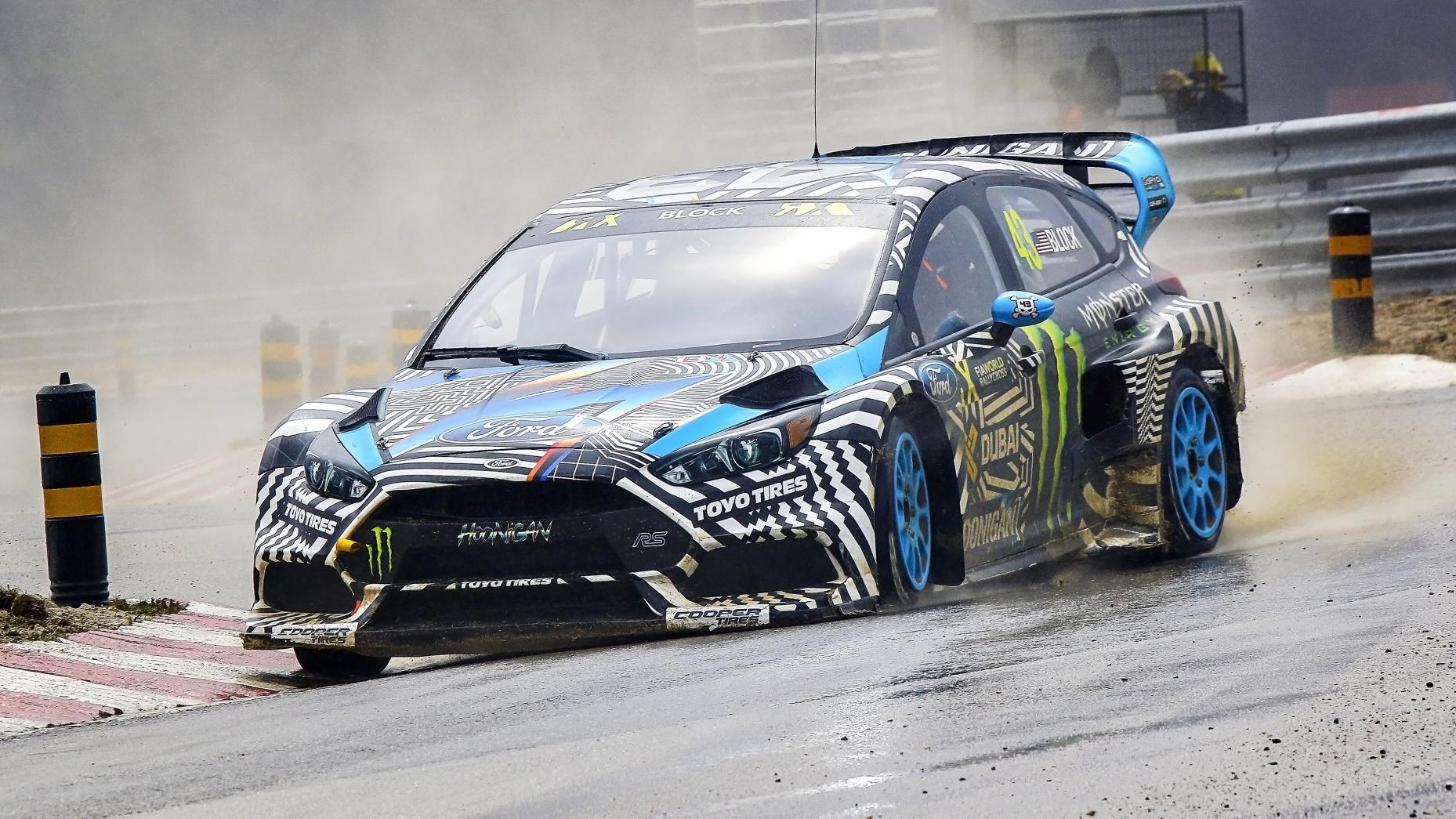 Garage Ken Block - 02 - Ford Focus RS RX