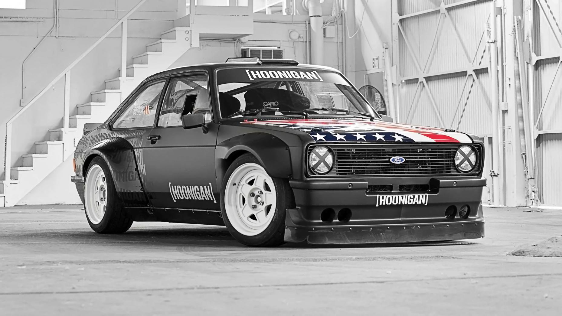 Garage Ken Block - 04 - Ford Escort MkII RS