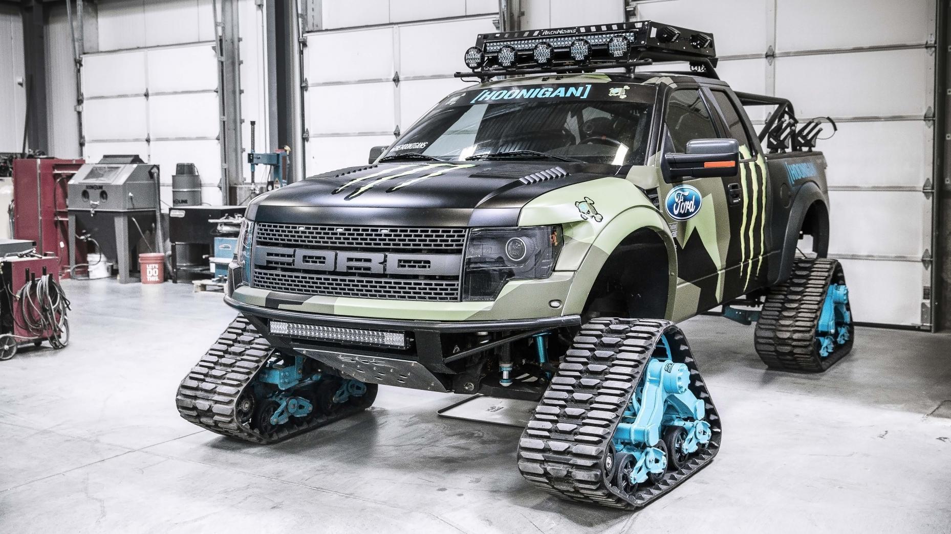 Garage Ken Block - 07 - Ford F-150 Raptortrax