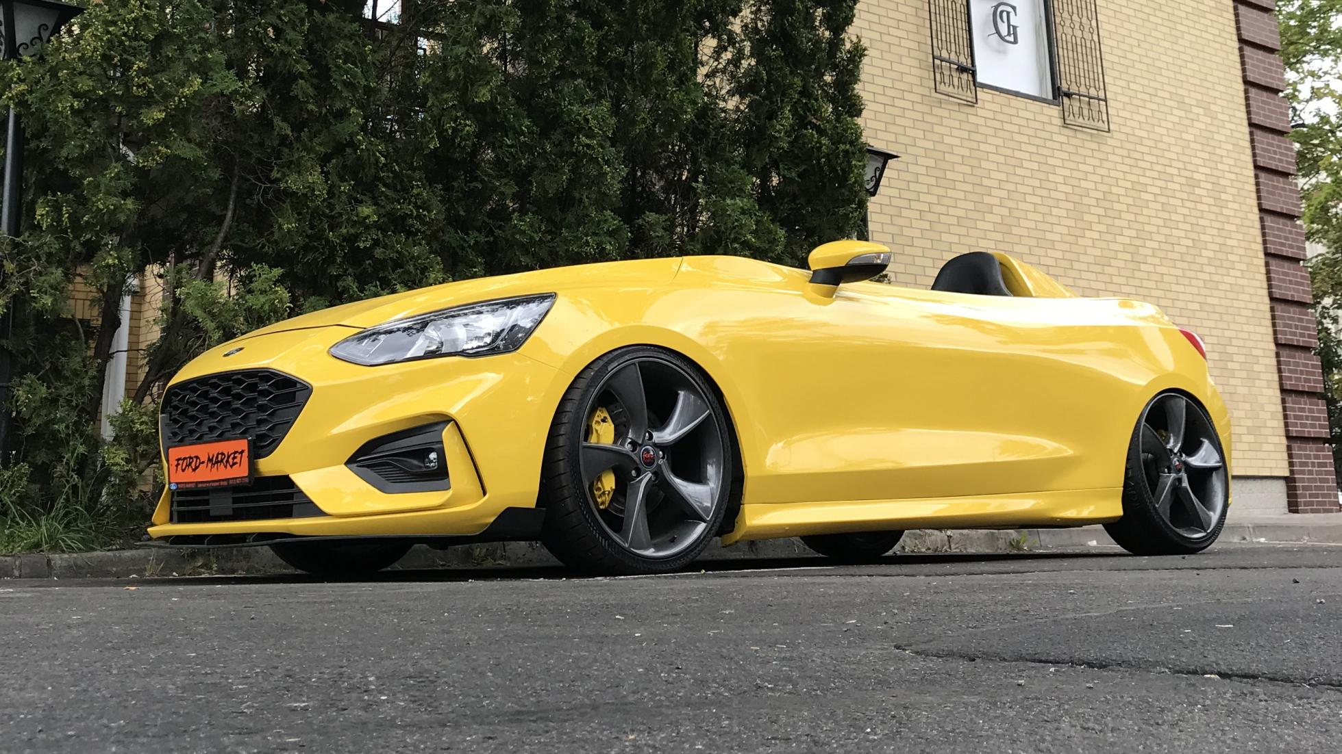 Cette Ford Focus Speedster est la McLaren Elva du pauvre - Galerie