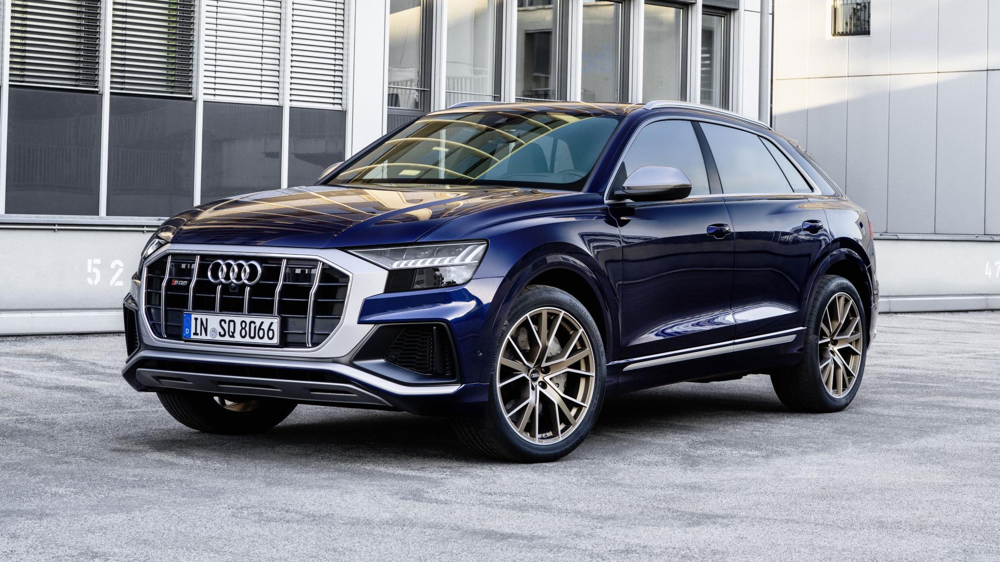 Audi SQ7 et SQ8 : maintenant avec un V8 essence de 507 ch - Galerie