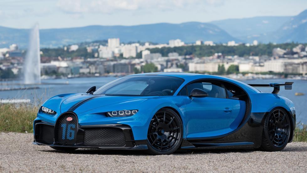 La Bugatti Chiron Pur Sport enfin à Genève - Galerie