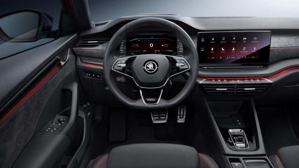 La Skoda Octavia RS est disponible en goût essence, Diesel ou hybride - Galerie