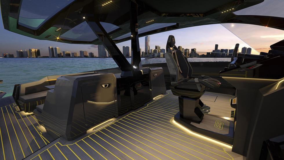 Admirez ce yacht Lamborghini de 4 000 ch - Galerie