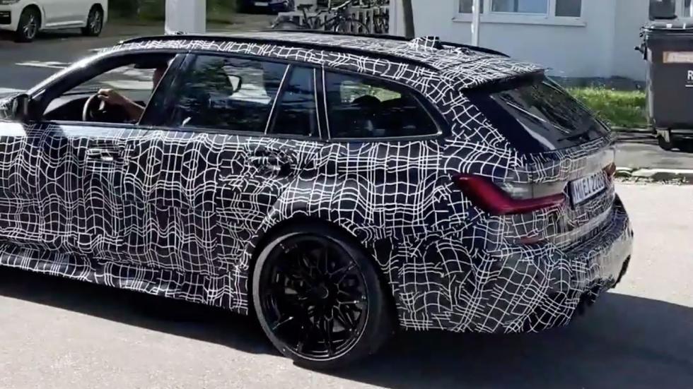La BMW M3 Touring se montre - Galerie