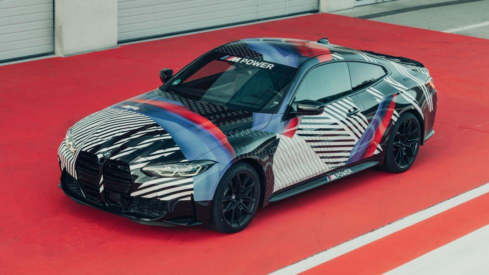 La BMW M4 dévoile son nouveau visage - Galerie
