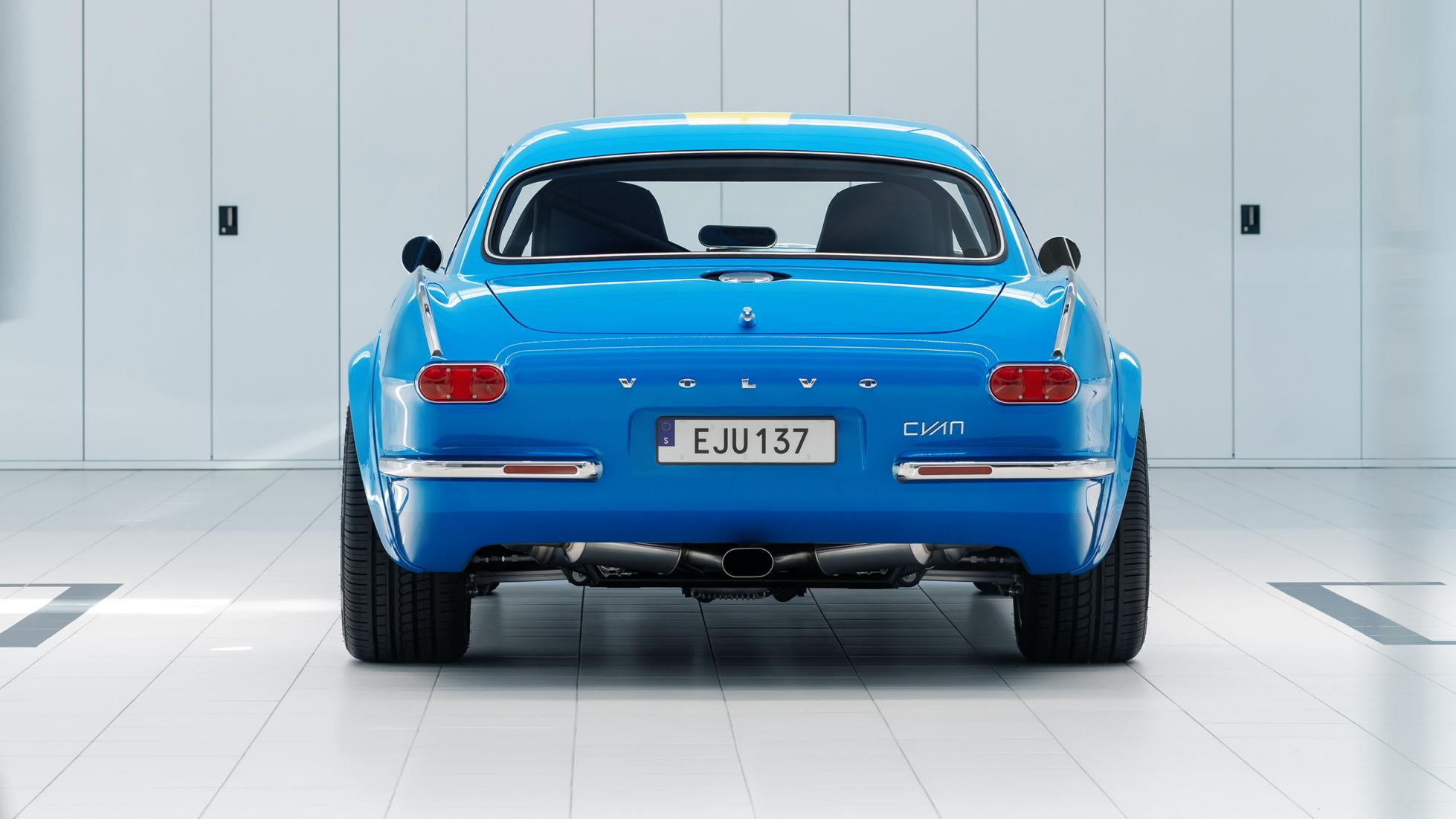 Cette Volvo P1800 de 420 ch est LE restomod - Galerie