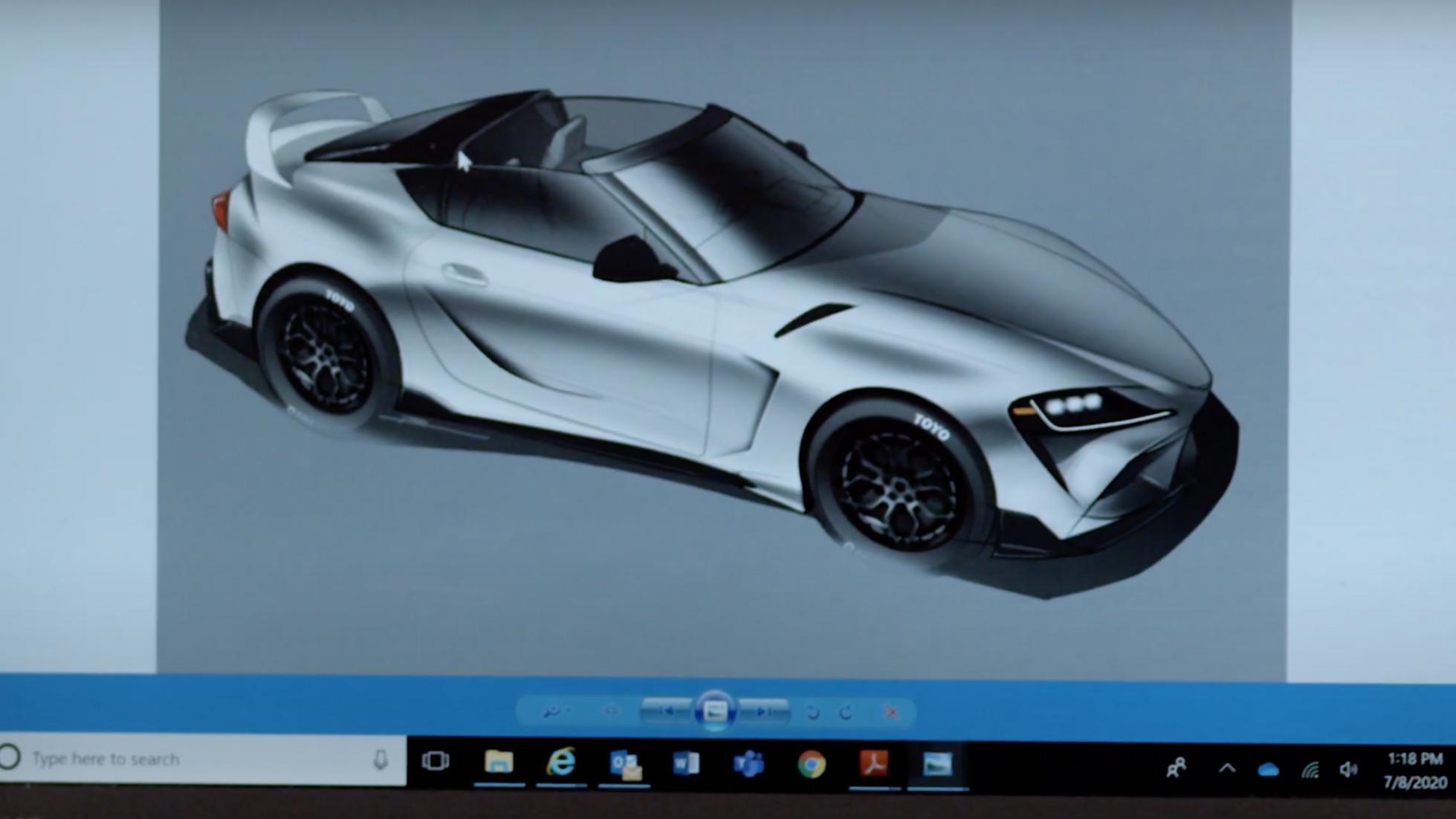 Toyota prépare une Supra targa de 500 ch pour le SEMA - Galerie