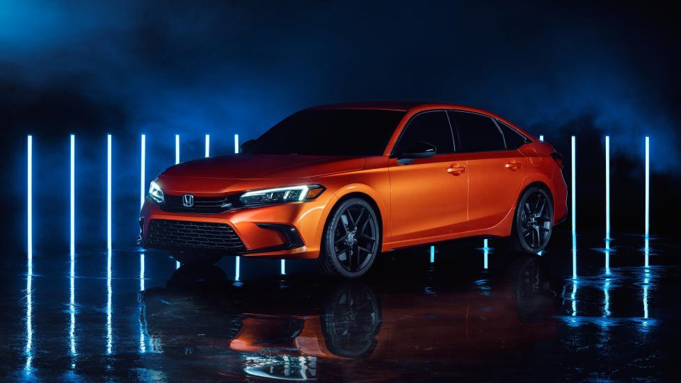 Honda a dévoilé sa nouvelle Civic - Galerie