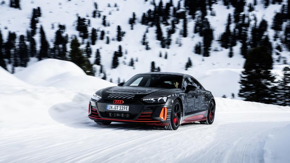 L'Audi e-tron GT saura drifter* - Galerie