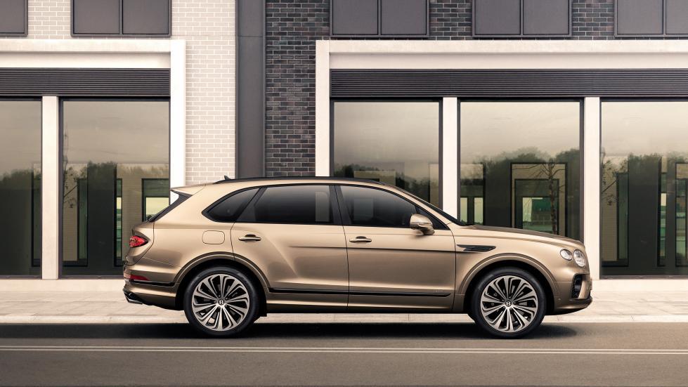 Le Bentley Bentayga Hybrid se fait une beauté - Galerie