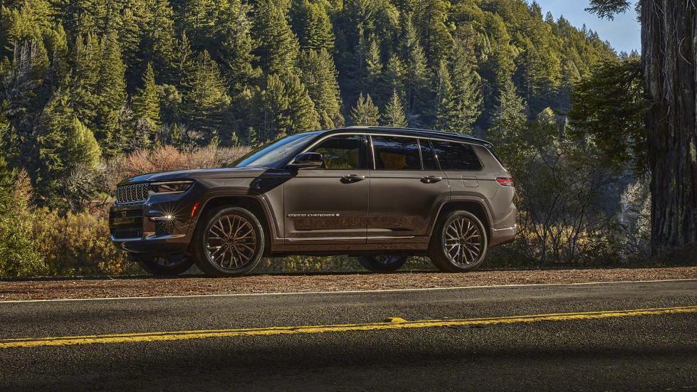 Ceci est le nouveau Jeep Grand Cherokee L - Galerie