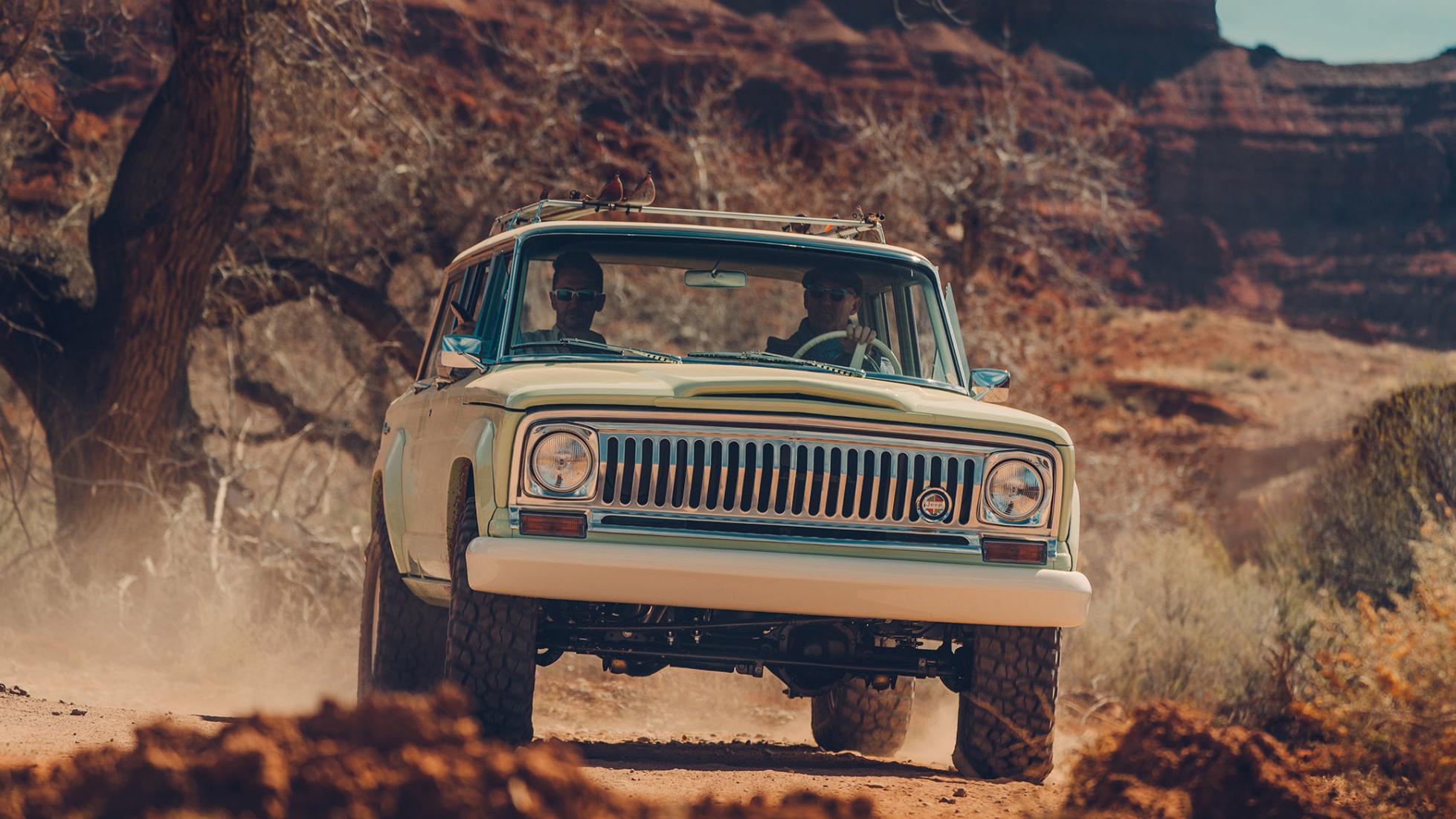 Jeep Wagoneer Roadtrip Concept